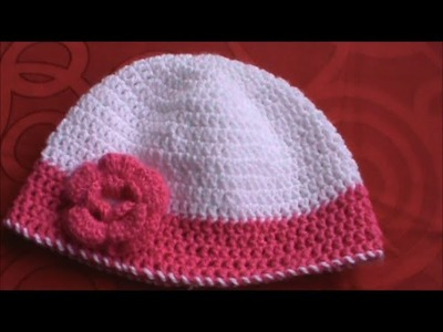 Gorro Para Mujer En Crochet ( Ganchillo)