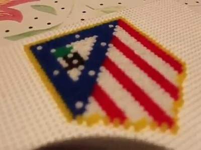 Hama Beads: Atletico de Madrid | ATM