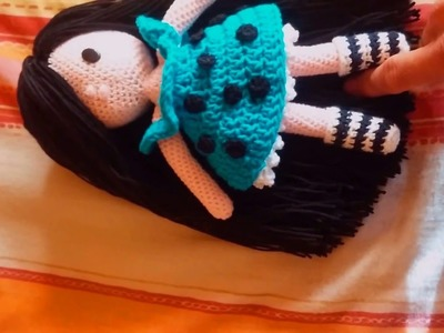 Mi muñeca Gorjuss de crochet