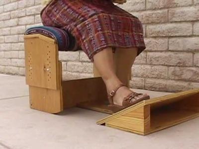 Synergo Arts - El Banquillo Ergonómico - video para carpinteros y tejedoras del telar de cintura