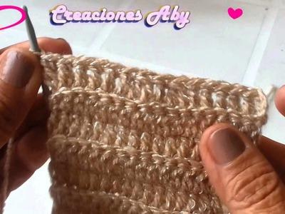 Vincha Cautivadora a Crochet  3ra parte
