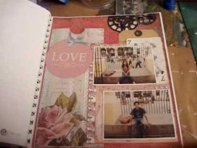 3-Scrapbook-Smash book 2014. Tutorial smash book-haz una pagina conmigo 3.proceso- Smash time