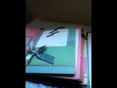 Album scrapbook para regalar