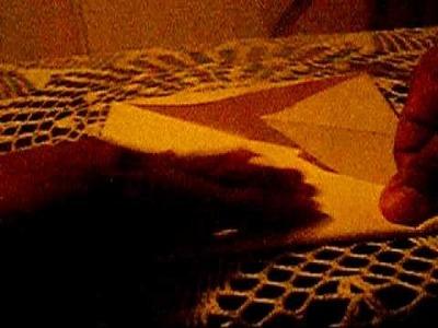 Cajita hecha de carton cartulina