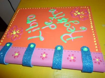 Como forrar un cuaderno