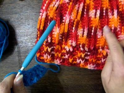 Crochet - Punto en relieve y punto elástico