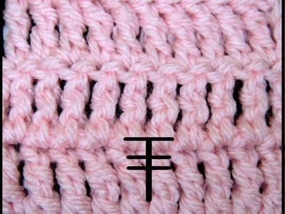 Curso Basico Crochet : Doble Punto Alto