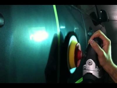 Eliminando marcas de lija 3000 con TufBuf y PO203S