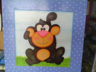 Manualidades;Cuadros infantiles de Trupan-By