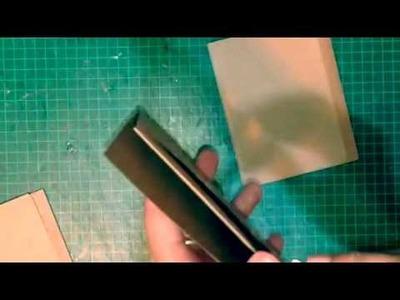 Mini álbum con folders