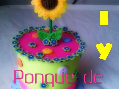 PONQUE DE CUMPLEAÑOS-DIY-How to,happy birthday- birthday cake