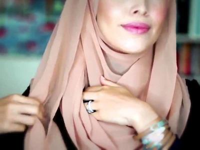 Tutorial hijab pashmina 1hijab tutorial style