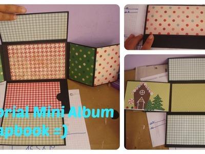 Tutorial Mini Album Scrapbook