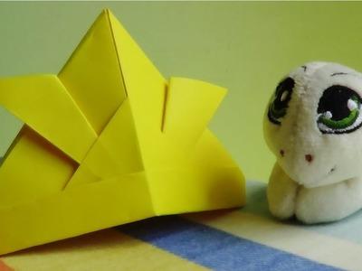 Casco Samurai de Papel - Origami