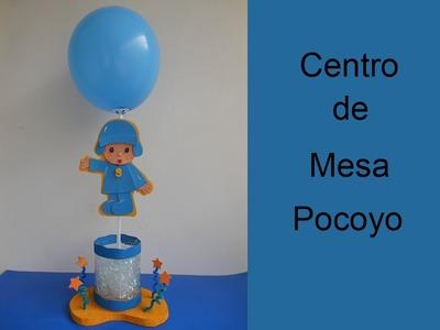 Centro de Mesa pocoyo (Centerpiece of pocoyo)