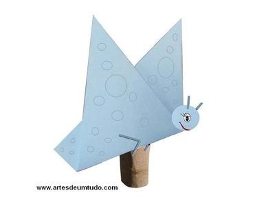 Como Fazer Origami #06 Borboleta 01