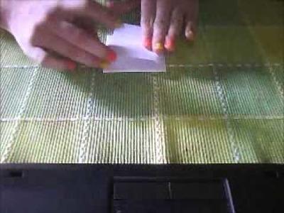 Como hacer titeres de papel- DIY, facil, original :) ORigami marionetas