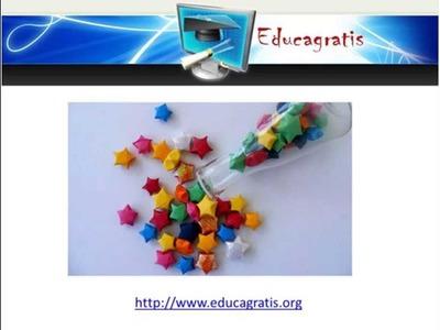 Curso de Origami -  Flores, Lamparas y Manualidades
