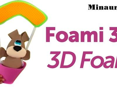 DIY Foamy 3D [ EVA. Microporoso  Cotillón - Fofucha. Party favors ]  by Mónica Villegas