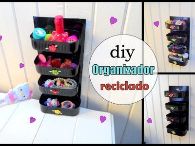 Diy organizador reciclado =) recycling organizer