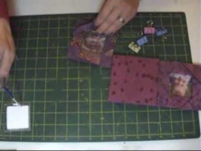Idea para el dia del padre. Portaretratos origami