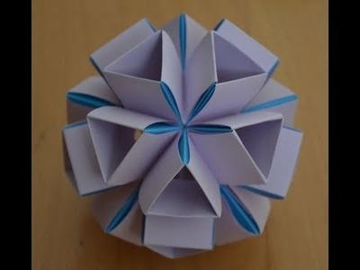 Kusudama Icosaedro Modulo Heinz Strobl