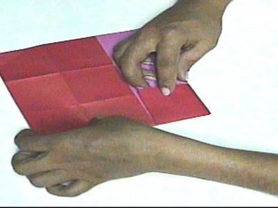 Mariposa en origami