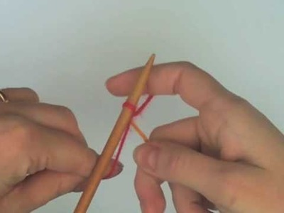 Montado Doble. Double Cast-On (index.thumb method)