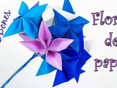 Nueva flor de papel | New paper flower | Origami