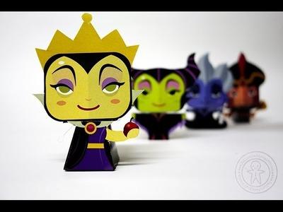 Papercraft - Disney Villains by Gus Santome