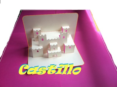 Pop Up. Origami - Papiroflexia. Castillo en 3D