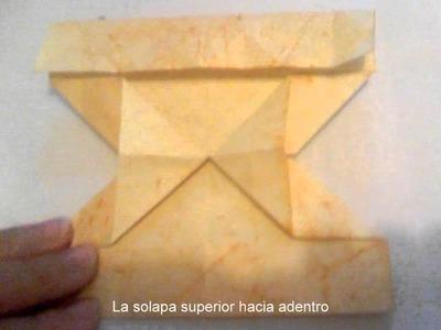Portaretratos Origami