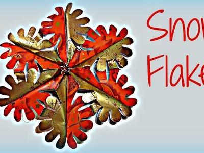 Tutorial: Adorno de Navidad. Paper Snowflakes.