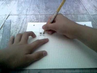 TUTORIAL: como hacer al creeper PAPERCRAFT. pt 1.3