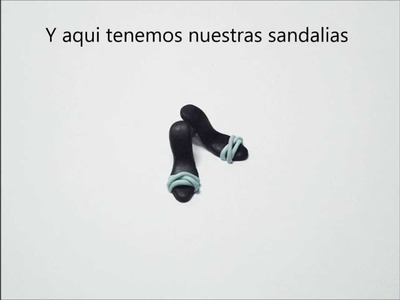 Tutorial Sandalias de Tacón. Tutorial Heel Sandals