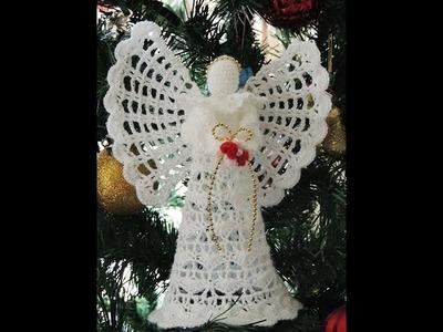 Angel en Crochet : Falda.  Parte 2 de 2