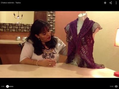 Chaleco redondo - Tejiendo con Laura Cepeda