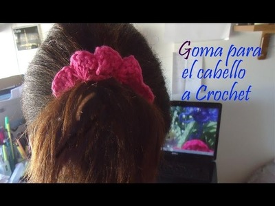 Como Decorar Liga para el Cabello Ganchillo (Crochet)