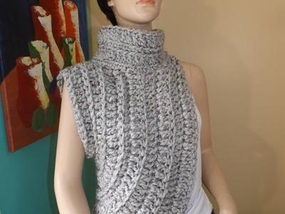 Crochet Calentador o Chalina Inspirado Por Katniss