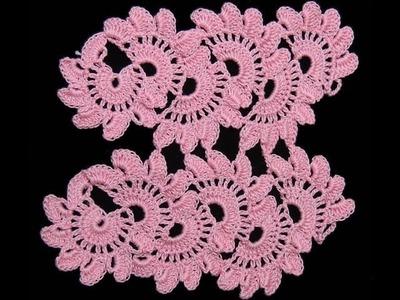 Crochet : Punto Entrelazado # 6. Uniones