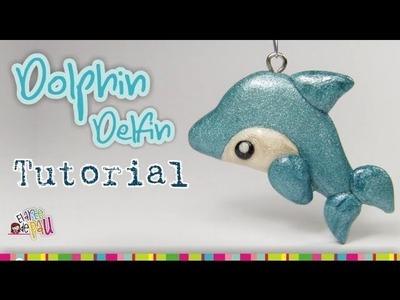 Dolphin polymer clay tutorial. Delfín de Arcilla polimérica