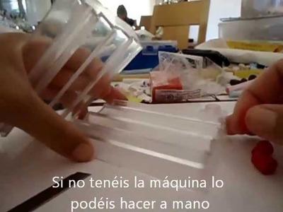 EFECTO LAVA - Técnica de la sal - FIMO. POLYMER CLAY TUTORIAL (Lava effect)