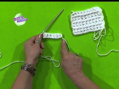 Escuela de Crochet - Varetas Cruzadas en Relieve