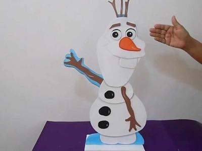 Figura en Foami Frozen