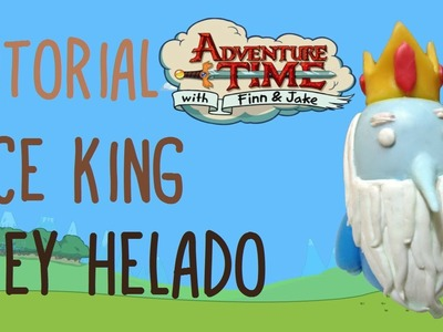 ICE KING Adventure Time (Polymer Clay) TUTORIAL. REY HELADO Hora de Aventura (Porcelana Fria)