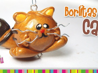 Little cat polymer clay tutorial. Borlitas cat de arcilla polimérica