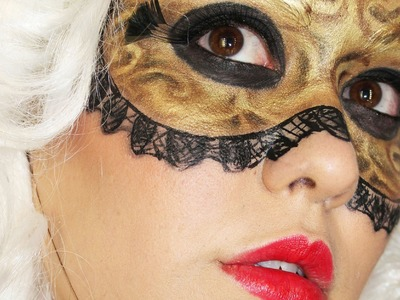 Look Fantasía Máscara Veneciana