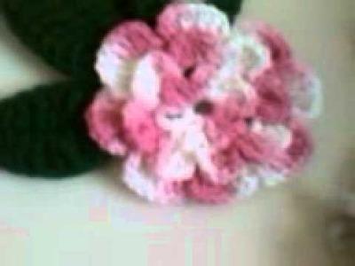 Mi tapetito de flores en crochet