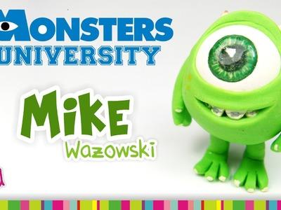 Mike Wazowski Polymer Clay Tutorial. Mike Wazowski de Arcilla Polimérica