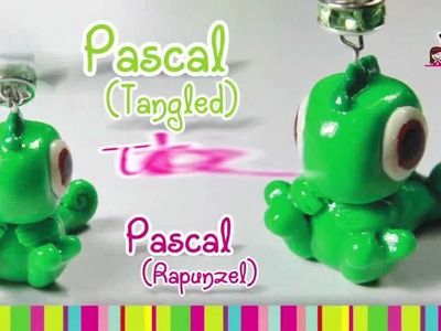 Pascal (Tangled) Polymer Clay tutorial. Pascal Rapunzel Enredados árcilla polimérica
